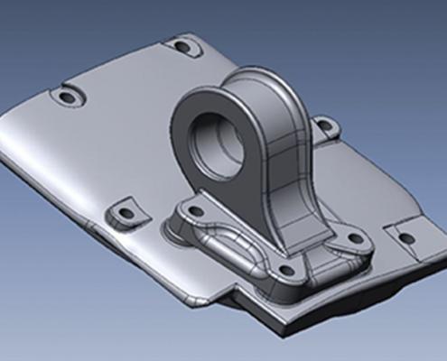 Oldtimer 3D model Oostdam Engineering