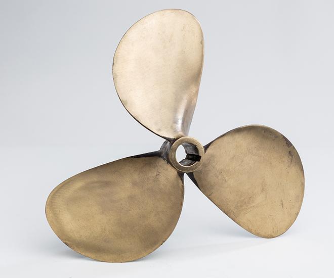 Bronzen Bootschroef