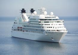 Cruiseschip lekbak